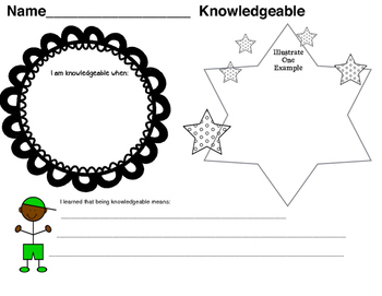 International Baccalaureate: Knowledgable Writing Pages (1st-6th)