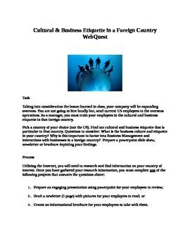 International Business Etiquette Project