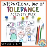 Tolerance & Cultural Diversity Activities - International Day for Tolerance Pack