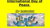 International Day of Peace - assembly