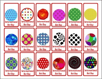 International Dot Day Brag Tags - PreK-1st (3 pages)