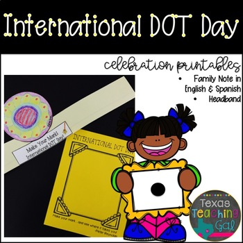 International Dot Day Celebration Printables