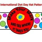 International Dot Day Hat Pattern