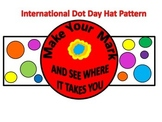 International Dot Day Hat Pattern