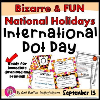 International Dot Day (September 15th)
