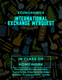 Foreign Exchange and Currency Webquest
