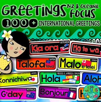 International Greetings Labels {with a Kiwi & Oceanic focus}
