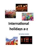 International Holidays A-Z