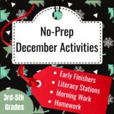 December Activity Packet (3rd- 6th Grades)