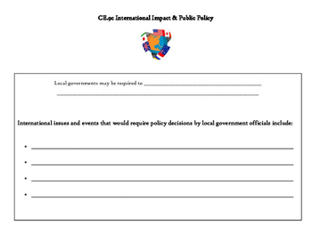 International Impact and Public Policy note page (VA Civics SOL CE.9c)