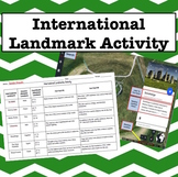 International Landmark Geography Activity Using Google Earth (Absolute Location)