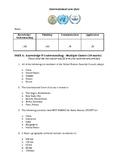 International Law Quiz with Answer Key