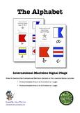 International Maritime Signal Flags Alphabet Mini Booklets With Cursive Writing