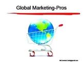 International Marketing PPT.Why Go Global?