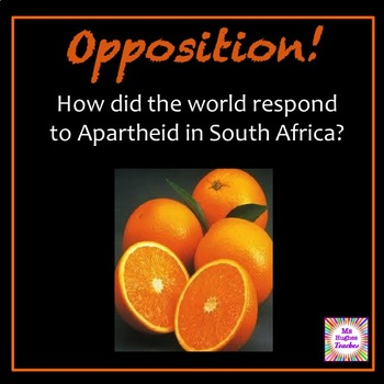 International Opposition to Apartheid in South Africa Full Lesson