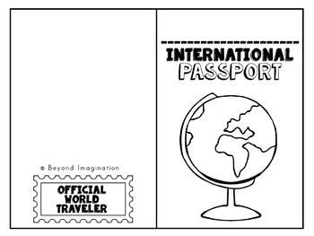 International Passport | Play Passport for Little Learners | Around the World