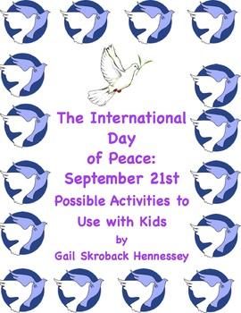 International Peace Day: September 21st