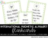 International Phonetic Alphabet (IPA) Flashcards