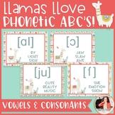 International Phonetic Alphabet Posters: Llamas {Music Cla