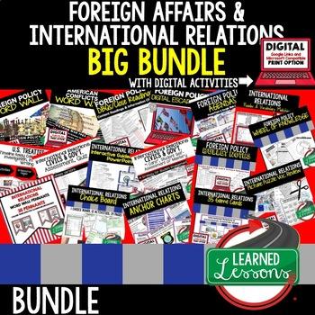 International Relations Bundle  (Civics and Government BUNDLE)