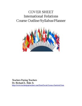 International Relations Course Outline/Syllabus/Planner