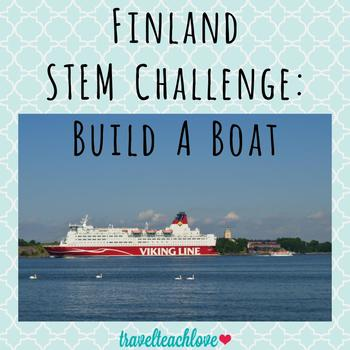 STEM Activity: Boat Design Challenge Finland Edition