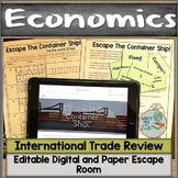 International Trade Digital and Paper Escape Room