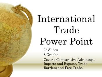 International Trade Power Point