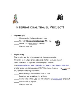 International Travel Project