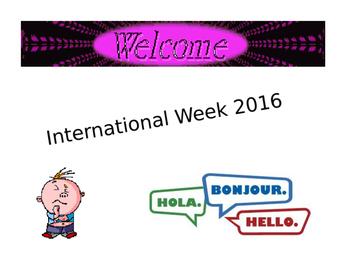 International Week Hidden Flag Game
