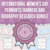 International Women's Day - Banners / Pennants and Biograp