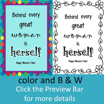 International Women's Day Cards (set 2)