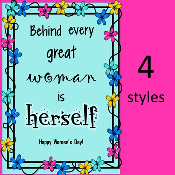 Women's Day Cards (set 2)