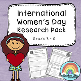 International Women's Day Research Pack - Free Download