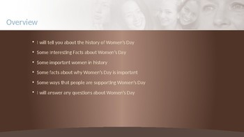 International Women's Day Inquiry Project Example