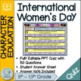 International Women's Day Quiz
