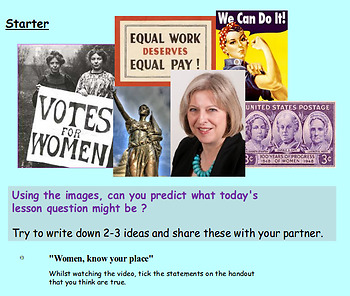 International Women's Day / Women's Rights / Sexism Bundle