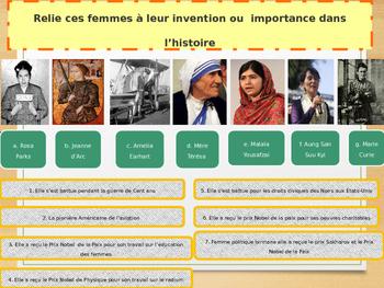 International Women's Day freebie in French