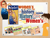 International Women's day in English freebie