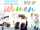 International Women's day interactive lesson with videos and activities