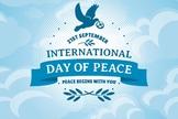 International World Peace - Video, Assembly, Lesson plan, Activities, Bulletin