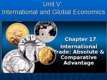 International and Global Economics: Absolute and Comparative Advantage