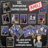 International business etiquette course – Business bundle - ESL adult conversati