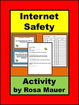 Internet Safety Activities
