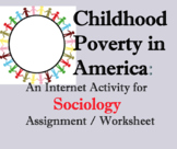 Internet Activity on Childhood Poverty in America; Sociolo