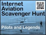 Internet Aviation Scavenger Hunt — Pilots and Legends, QR Codes and URLs