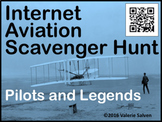 Internet Aviation Scavenger Hunt — Pilots and Legends, QR Codes and URLs