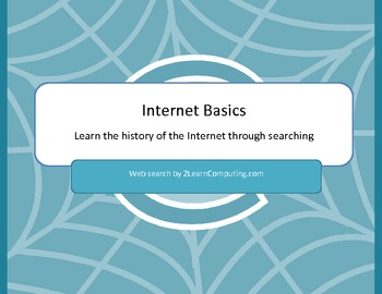 Internet Basics Online Web Search - Internet History Search