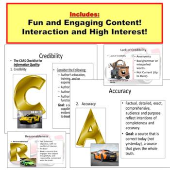 Internet Citation Quality Control PowerPoint