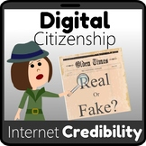 Internet Credibility: How to Spot Fake News–Digital Citizenship Series
